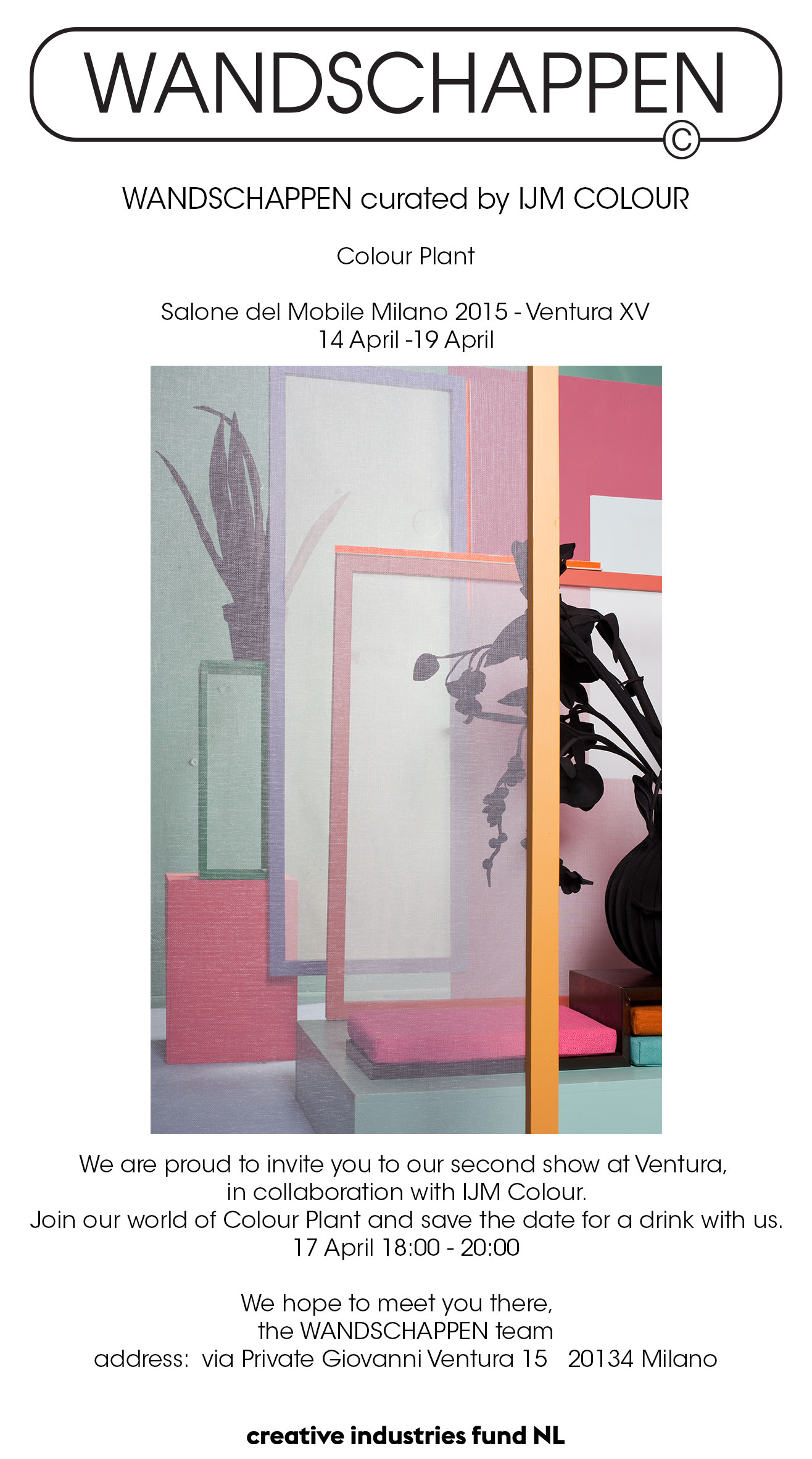 Salone del mobile milano 2015 wandschappen webshop for Salone del mobile lambrate ventura